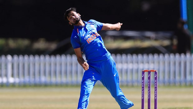 india cricket match update - Khaleel Ahmed