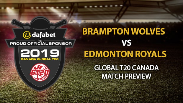 Kane Williamson - Global T20 Canada 2019 Edmonton Royals vs Brampton Wolves