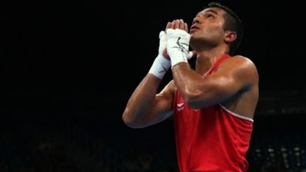 indian boxers: Vikas Krishan returns home to chase his Olympic dream