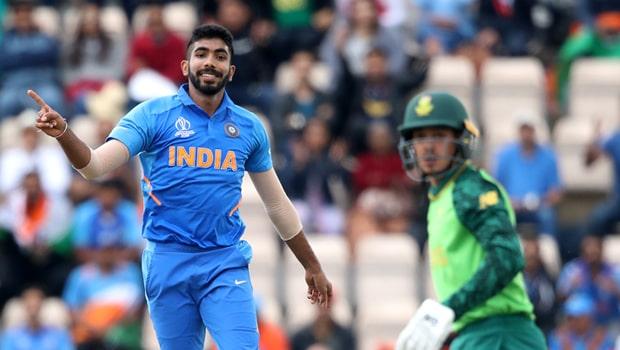latest cricket update - Jasprit Bumrah