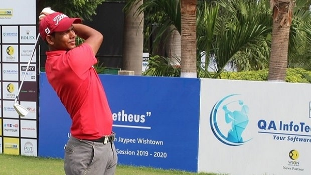 Chadha and Kumar emerge leaders in round one of the ICC RCGC Open Golf Championship