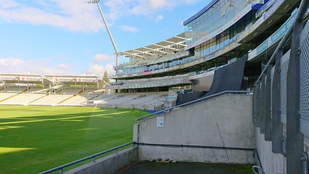 empty cricket stadium