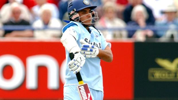 Sourav Ganguly batting