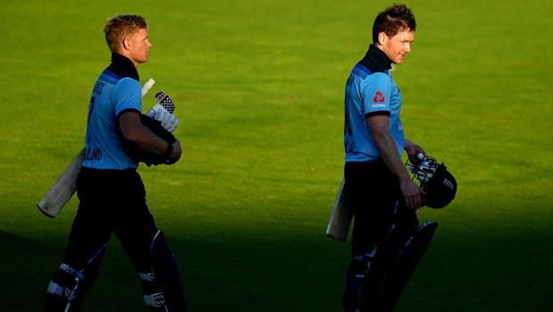 Eoin Morgan and Sam Billings