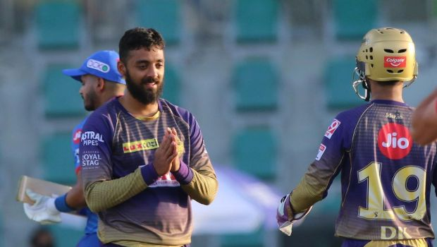 IPL 2021: It was challenging to bowl with dew coming in - Varun Chakravarthy