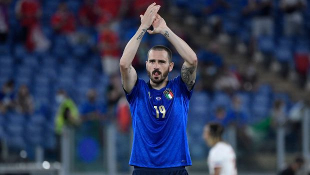 Italy's Leonardo Bonucci became the oldest goalscorer in the finals of the Euros after he scored the equaliser against England