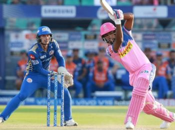 Match Prediction for the game between Rajasthan Royals and Mumbai Indians